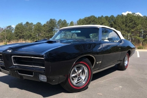 This 1969 Pontiac GTO Convertible Is A Beautiful Looking Beast