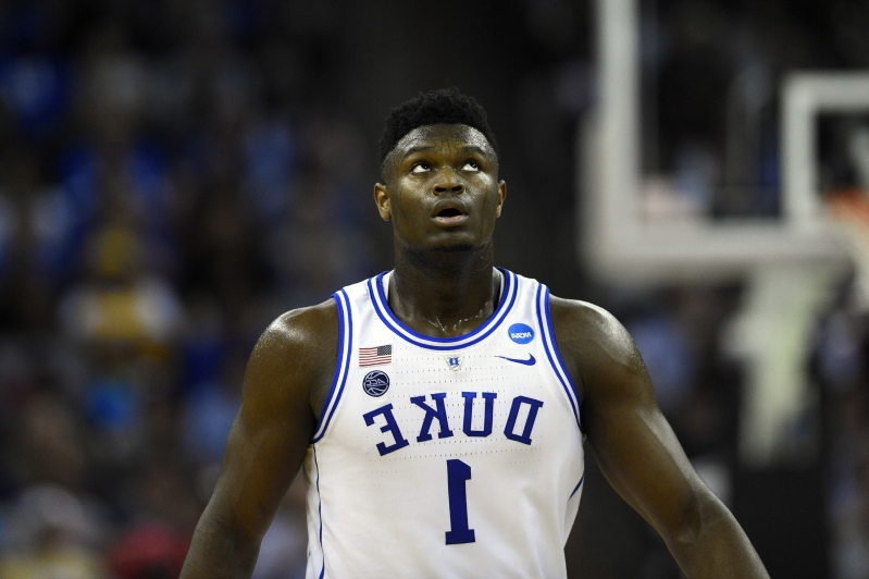 54d431fba62 Sport: Zion Williamson has interest from seven shoe companies ...