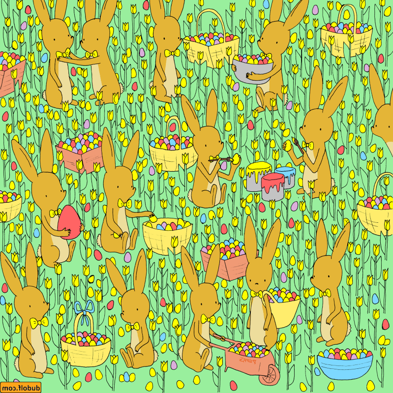 Offbeat: Can you spot the baby chicken in this Easter-themed