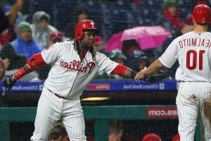Phillies offer fans free tickets for sitting through Friday's rainy game