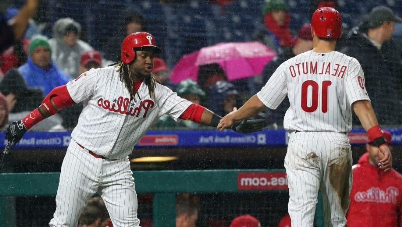 ba31cf75f Sport  Phillies offer fans free tickets for sitting through Friday s ...