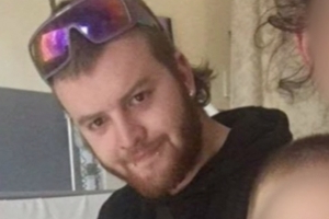 Devoted father-of-two, 23, is found dead inside his home after the property was destroyed by fire - as police probe whether the blaze was deliberately lit