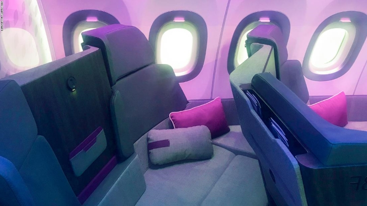 Is Airbus' sofa-style seat the future of business class travel?