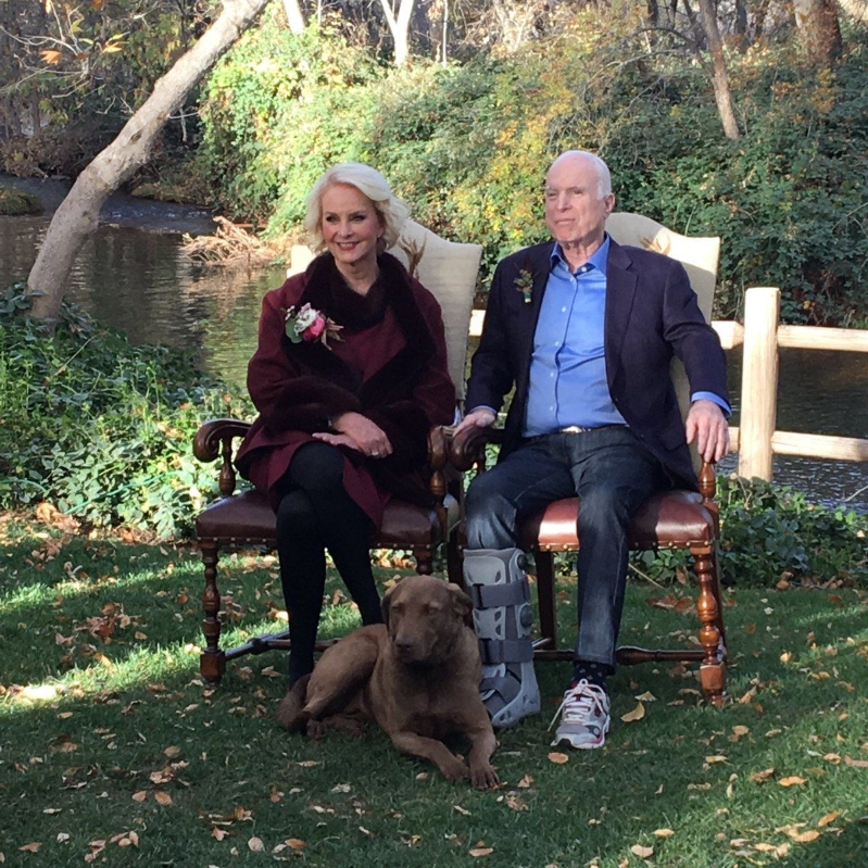 Meghan Mccain On The View Monday: US: John McCain's Beloved Dog Burma Dies In 'tragic