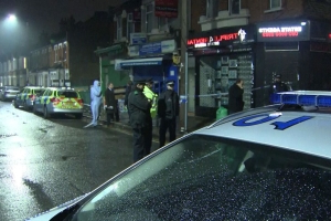 Man shot and stabbed to death in east London