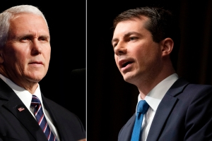 Feud between Pete Buttigieg and Mike Pence escalates