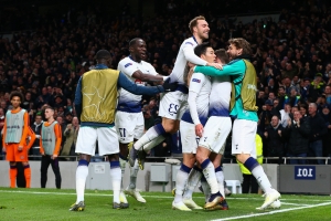 Lloris, Son gives Spurs first leg lead over Man City
