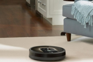 Officers respond to a burglary call with their guns drawn only to find a trapped Roomba