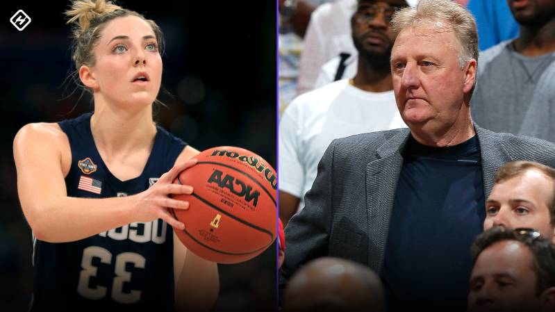 WNBA Draft: Katie Lou Samuelson receives well wishes from Larry Bird