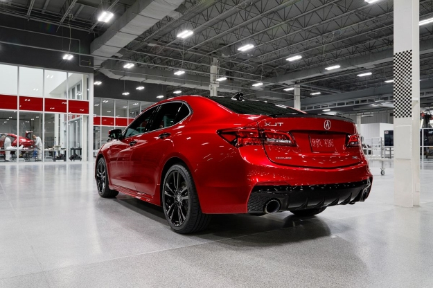 Auto Shows 2020 Acura Tlx Pmc Edition Is Hand Built And Covered In