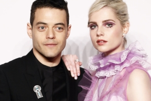 Rami Malek And Lucy Boynton Had A Very Fashionable Date Night At The Clash De Cartier Party