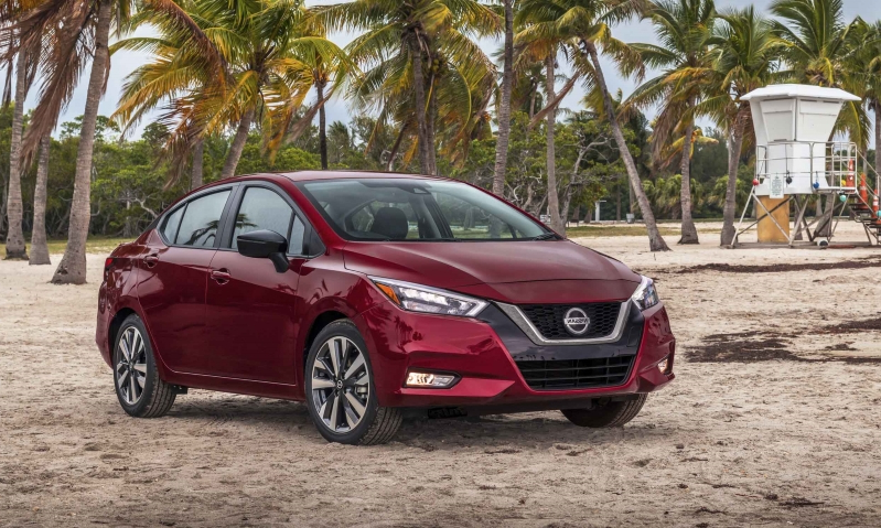 Reviews: 2020 Nissan Versa: First Look - PressFrom - Canada