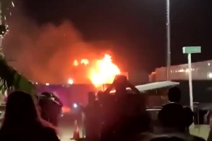 Coachella music festival: Fire breaks out on first night