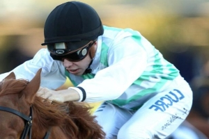 Jockey Andrew Adkins rushed to hospital after fall at Randwick