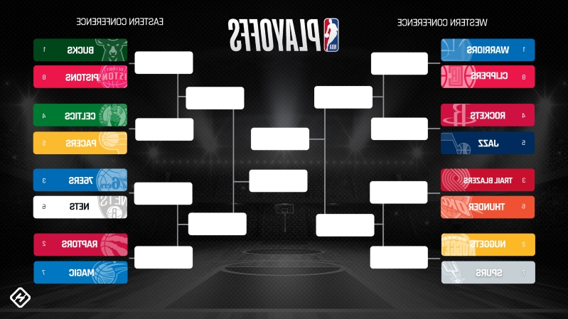photo regarding Printable Nba Playoff Bracket named Recreation: NBA playoffs these days 2019: Reside rankings, Tv set program