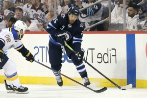 NHL playoffs 2019: Jets forward Blake Wheeler ends 13-game goal drought in Game 2 loss to Blues