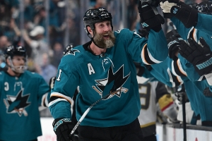 NHL playoffs 2019: Sharks forward Joe Thornton scores first postseason goal since 2016