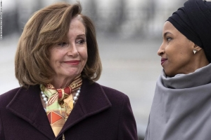 Nancy Pelosi says she talked with Sergeant-at-Arms about Ilhan Omar's safety following Trump tweet