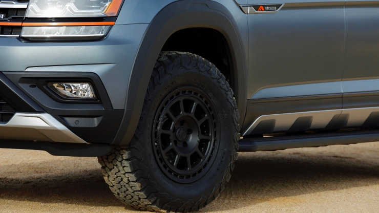 2019 VW Atlas Basecamp concept wants to be your ultimate offroad camper rig