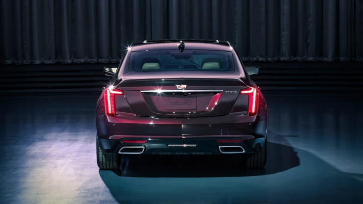 Auto Shows: 2020 Cadillac CT5 Sedan Revealed Ahead of 2019 New York Auto Show - PressFrom - US
