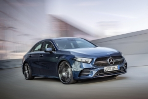 2020 Mercedes-AMG A35 offers 302 horsepower in a pint-size package