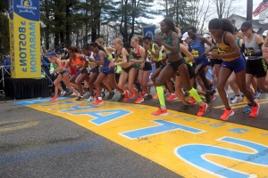 Degefa runs away with women's Boston Marathon