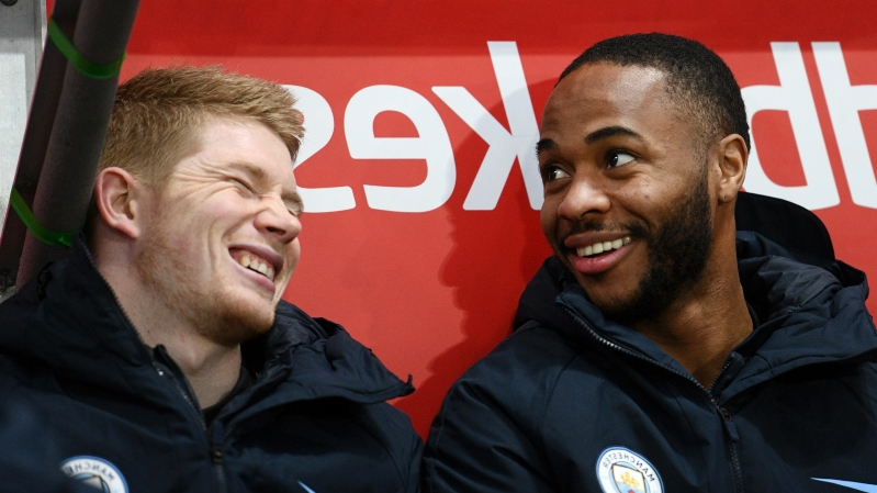 I thought he would be a d***head! - How 'humble' Sterling changed De Bruyne's mind