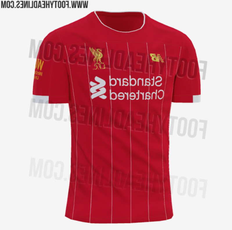 Liverpool's 2019/20 home kit leaked online