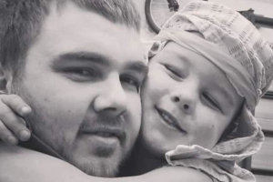 'My world is shattered': Dad pays tribute to boy killed by dog
