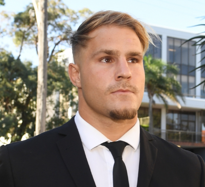 NRL's no-fault stand down rule 'unfair, draconian', Jack de Belin's lawyer tells court