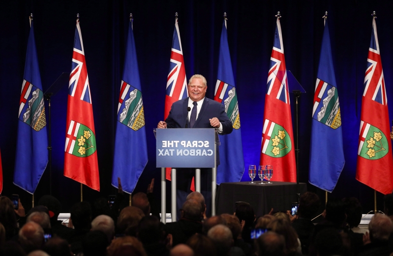Ontarians don't support Doug Ford's anti-carbon tax campaign