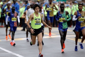 The Latest: 30K runners off to race in 123rd Boston Marathon