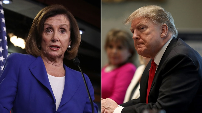 Trump rips into Pelosi after 'puff piece' '60 Minutes' interview