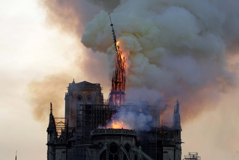 850-year-old Notre Dame survived the French Revolution. Here are 4 other things to know