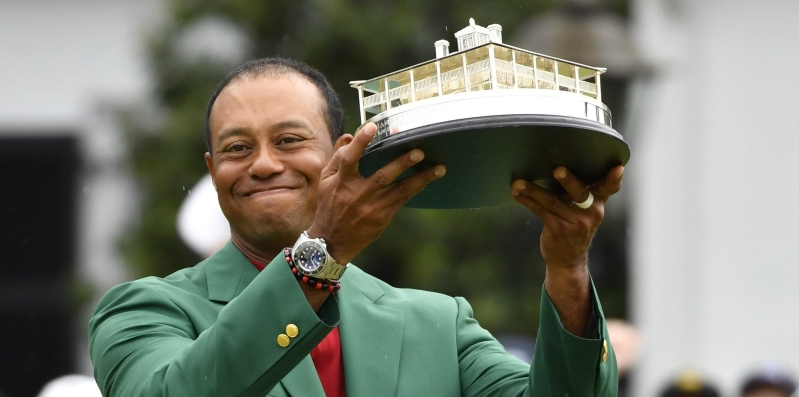 Empire State Building to glow green honoring Tiger Woods' Masters win