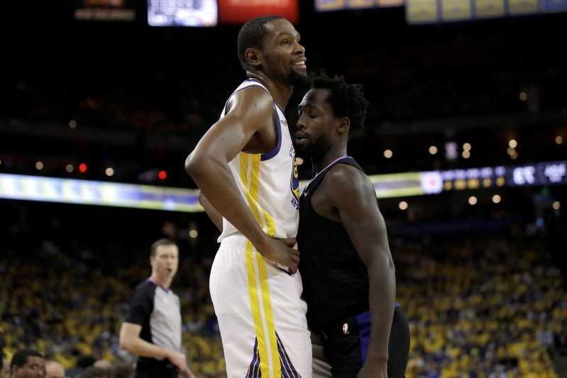 35674c31b512 Kevin Durant apologizes for potentially costly technicals in Game 1 vs.  Clippers