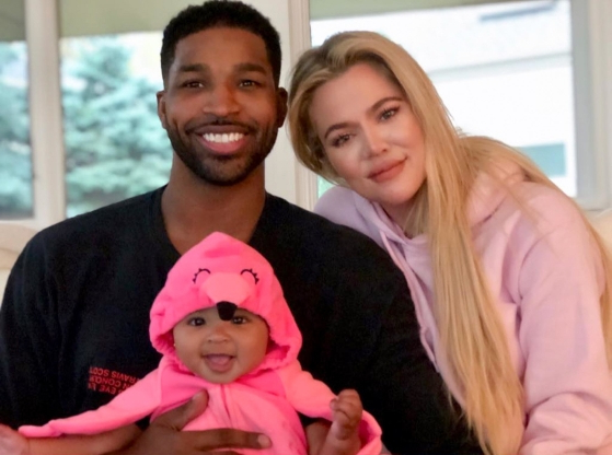 Khloé Kardashian and Tristan Thompson 'Had Very Little Interaction' at True's Birthday: Source