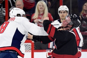 NHL playoffs 2019: Hurricanes' Andrei Svechnikov in concussion protocol after Alex Ovechkin fight