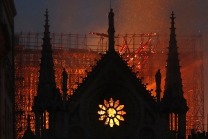 Notre Dame cathedral blaze finally out