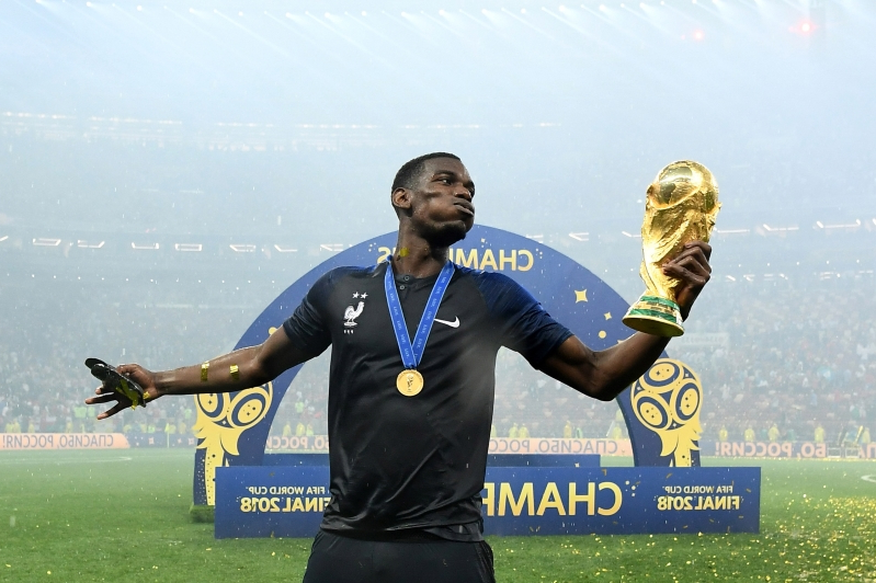 Pogba auctions World Cup-winning boots for charity