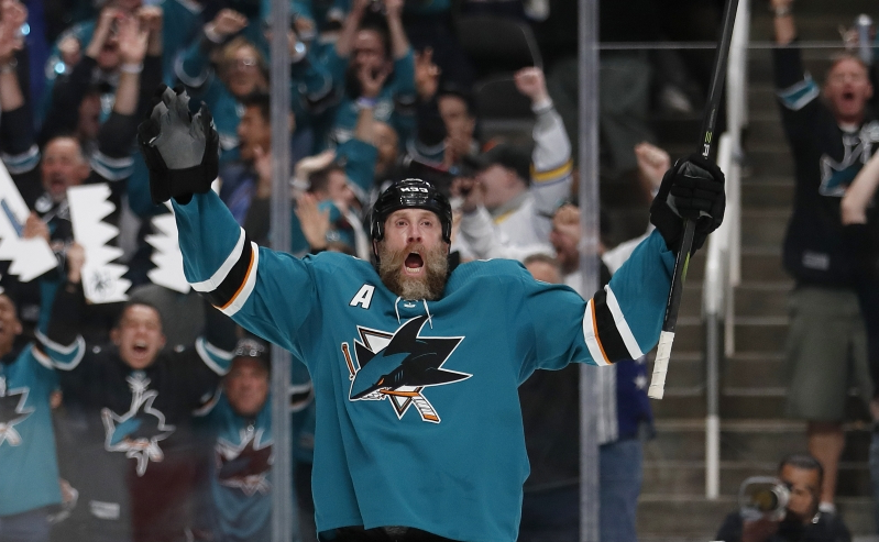 Sharks' Thornton could face NHL punishment over hit