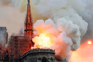 France announces competition to rebuild Notre Dame's spire