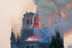 Listing for 'timber from Notre-Dame fire' removed by eBay