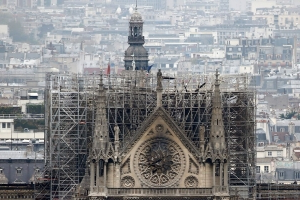 Rival French Billionaires Pledge Nearly $600 Million to Rebuild Notre Dame Cathedral