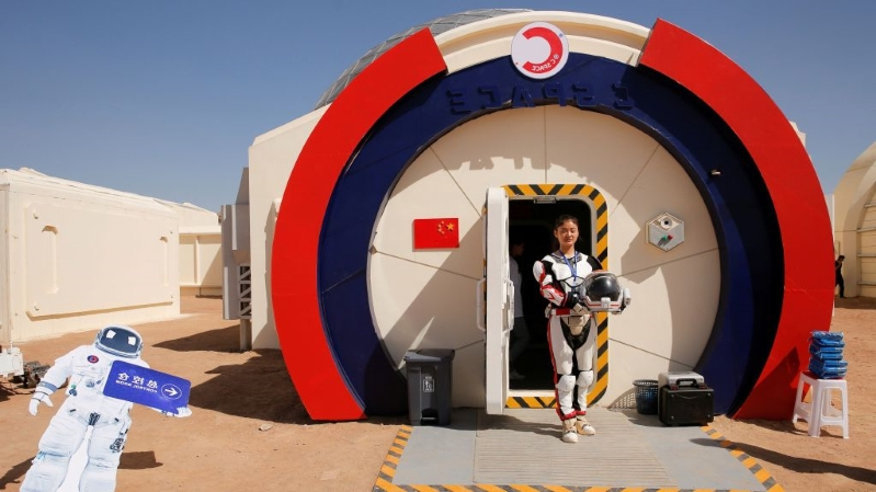 Image result for CHINA IS SENDING TEENS TO A SIMULATED MARS COLONY