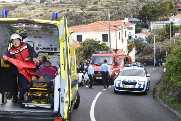 At least 29 killed in Madeira when tourist bus veers off the road