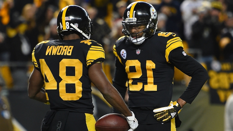 ebfb9f476 Sport: Did JuJu Smith-Schuster just throw shade at Antonio Brown ...