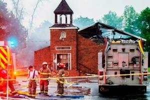 Fundraising efforts for Notre Dame inspire people to donate to rebuild burned Louisiana churches