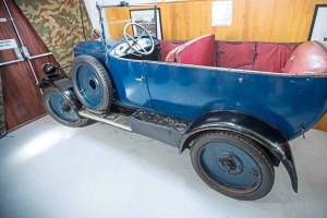 Hidden From Nazis, This 1926 Trojan Tourer Goes On Display