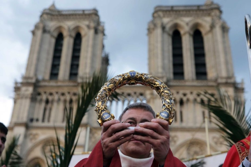 Notre Dame fire: Was the crown of thorns that survived the blaze THE crown of thorns?